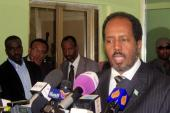 Somali President Hassan Sheikh Mohamud's dismissal of the prime minister has triggered another crisis in Somalia [AFP]