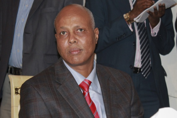 Abdiweli Sheikh Ahmed was named prime minister in a press conference at Villa Somalia [EPA]