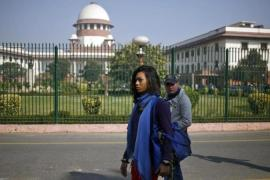 Last week's Supreme Court ruling recriminalising gay sex has triggered an uproar in India [Reuters]