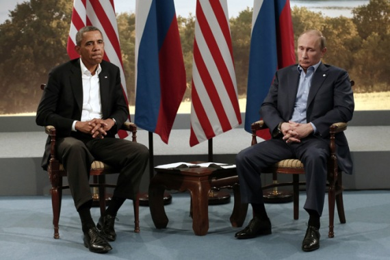 The US president, left. will not attend the Games, even as Russia says no discrimination will be tolerated [Reuters]