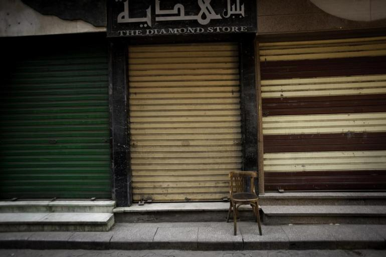 But today, the streets of Cairo are largely empty of tourists.