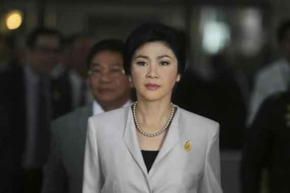 Yingluck's compromise offer was immediately rejected by the protesters  [AP]