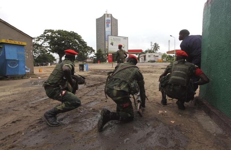 Gunmen attacked the airport and seized control of the state television headquarters in Kinshasa, the Democratic Republic of the Congo(***)s captial on December 30.