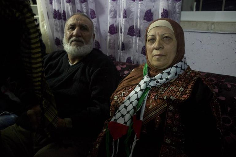 Mahmoud Daajneh, a prisoner for more than 20 years, was reunited with his family in East Jerusalem upon his release.