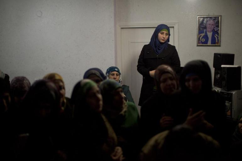In East Jerusalem, the family of Abu Naser Dahadgn wait for his release.