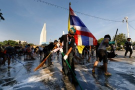 Thai protests ease ahead of King's birthday