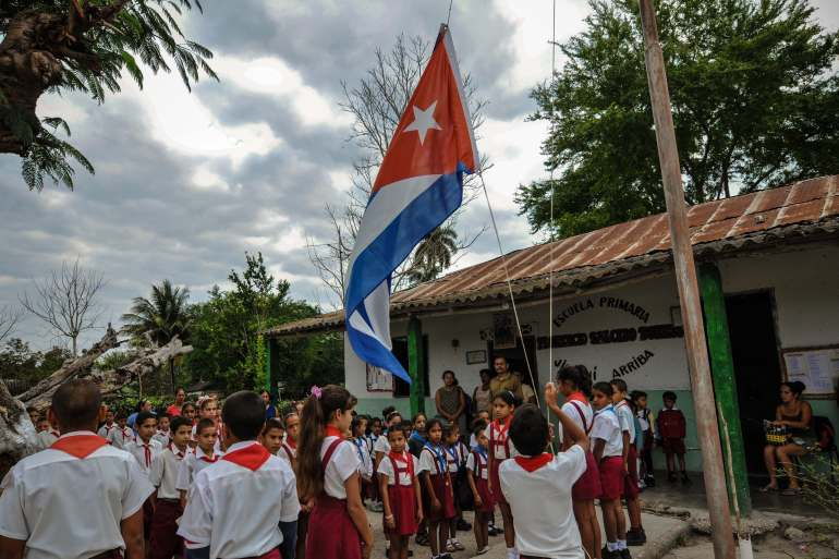 Supporters of private schools say they are filling gaps in Cuba's state-run education system [AFP]