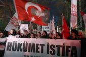 Turks are calling for the ruling AKP party to resign amid graft scandals [AFP]