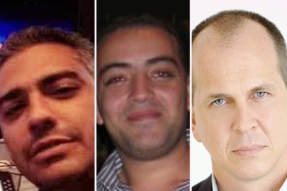Greste and producers Baher Mohamed and Mohammed Fahmy have been held since December 29 [Al Jazeera]