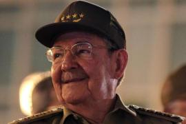 Cuban president Raul Castro gave a speech to mark the 55th anniversary of the Cuban revolution victory [EPA]