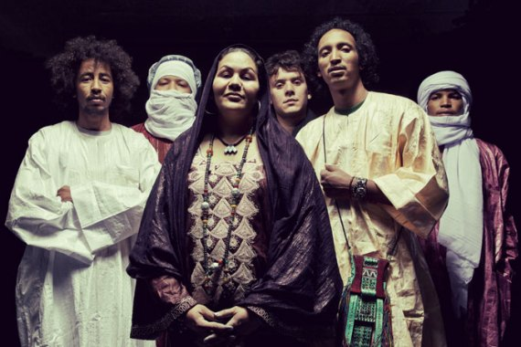 The Tuareg band Tamikrest [Photo courtesy of Tamikrest]