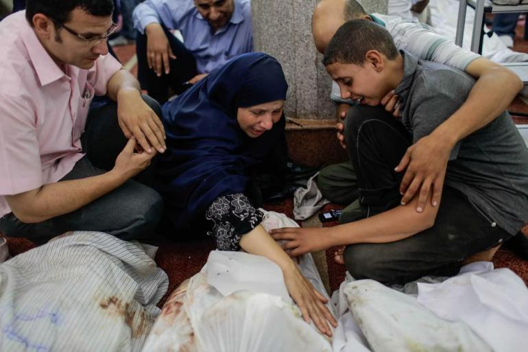 Hundreds of Morsi supporters were killed as security forces dispersed the Rabaa al-Adaweya sit-in on August 15, 2013.