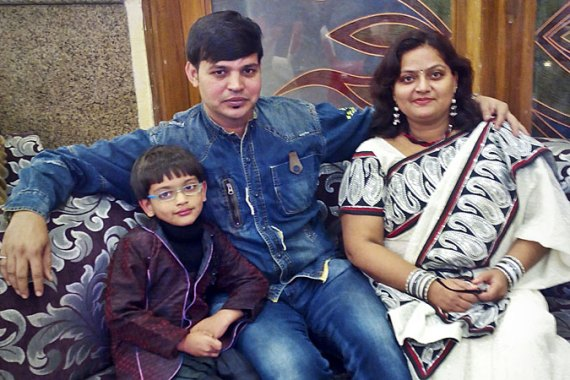 Shabana and Manish married each other four times under various customs to gain social acceptance  [Supplied/Al Jazeera]