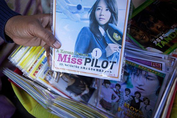 DVDs of every new Korean movie is available in Imphal within a few hours of its release  [Bijoyeta Das/Al Jazeera]