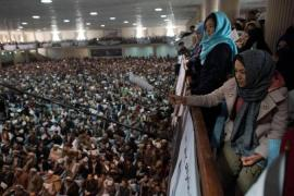 Afghan women's rights crucial poll topic