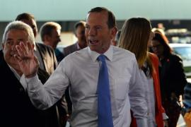 Abbott has accused the national broadcaster of being unpatriotic [AFP]