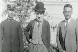 Chaplin's novel manuscript found in archives