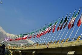 <p>Iran prepares for celebrations of the 35th anniversary of the revolution.</p>