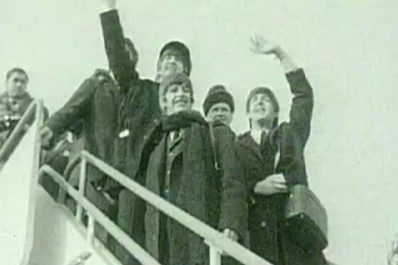 The Beatles encapsulated the birth of pop culture with their first visit to the United States [Al Jazeera]