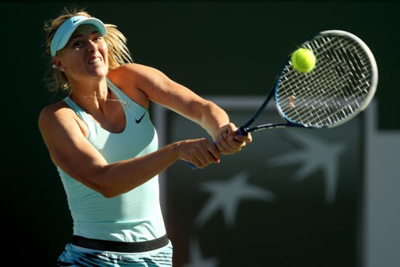 Sharapova is the two-time defending champion at the Porsche Grand Prix [Reuters]