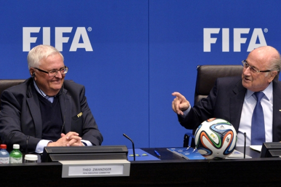 FIFA discussions in Zurich dealt with the plight of migrant workers in Qatar [EPA]