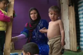 Syrian refugees face malnutrition crisis