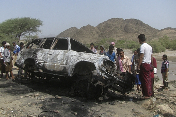 Drone strikes have triggered criticism from rights activists, who say they have killed innocent civilians. [Reuters]