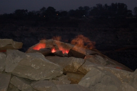 Some 67 fires - big and small - are currently raging in Jharia [Al Jazeera]