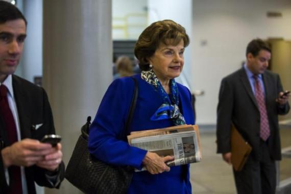 Dianne Feinstein wants some of the Senate report declassified [AP]
