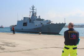 Italian navy vessel Comandante Foscari arrived at Augusta port in Sicily on April 8, after rescuing 226 migrants. The rescue was part of operation Mare Nostrum (Our Sea), in which amphibious ships, unmanned drones and helicopters with infrared equipment cooperated to prevent deaths of migrants at sea. Mare Nostrum was launched in October 2013, following incidents off the Italian island of Lampedusa, in which hundreds of migrants drowned when their boats capsized.