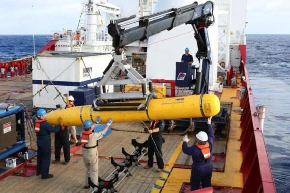 The Bluefin-21 is set for a second sweep of the remote Indian Ocean sea bed after aborting its first search [EPA]