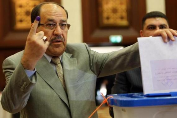 The Iraqi prime minister, Nouri al-Maliki, has lost some of his cross-community support [AFP]