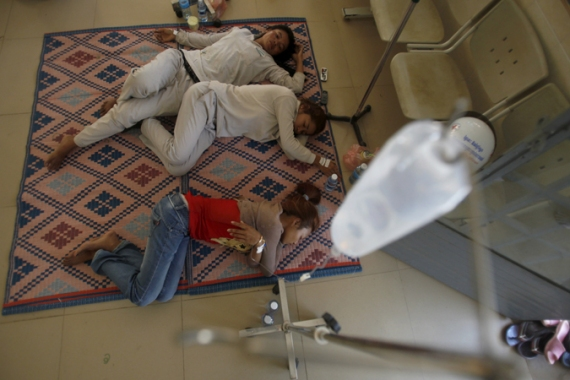 Fainting is frequent in Cambodia's growing garment industry [Reuters]