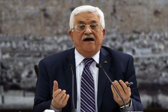 Israel has reportedly asked President Mahmoud Abbas to withdraw the letters of accession to the agencies [EPA]