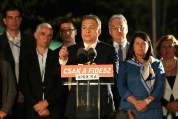 Hungary's ruling party Fidesz won two-thirds of the votes in the recent parliamentary elections [Getty Images]