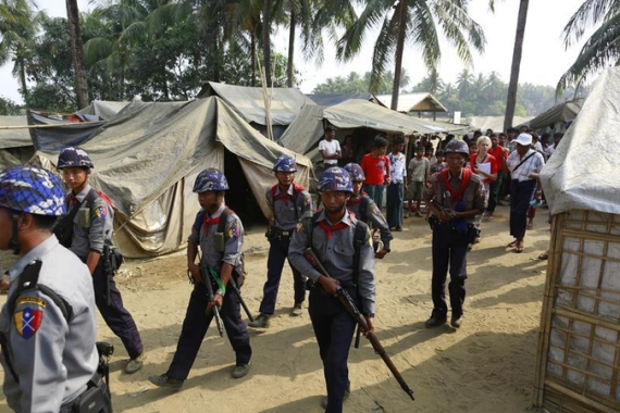 "A UN report has decried the ""systematic discrimination and marginalisation"" of Rohingya Muslims [Reuters]"