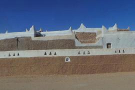 A UNESCO-protected world heritage site, Ghadames(***) old city is now uninhabited.