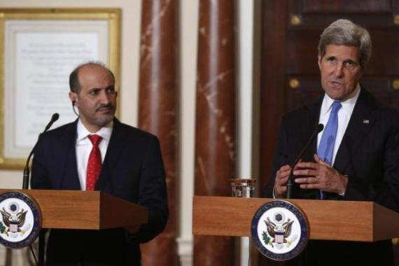 Jarba had previously requested increased military aid to help combat Assad forces [AP]