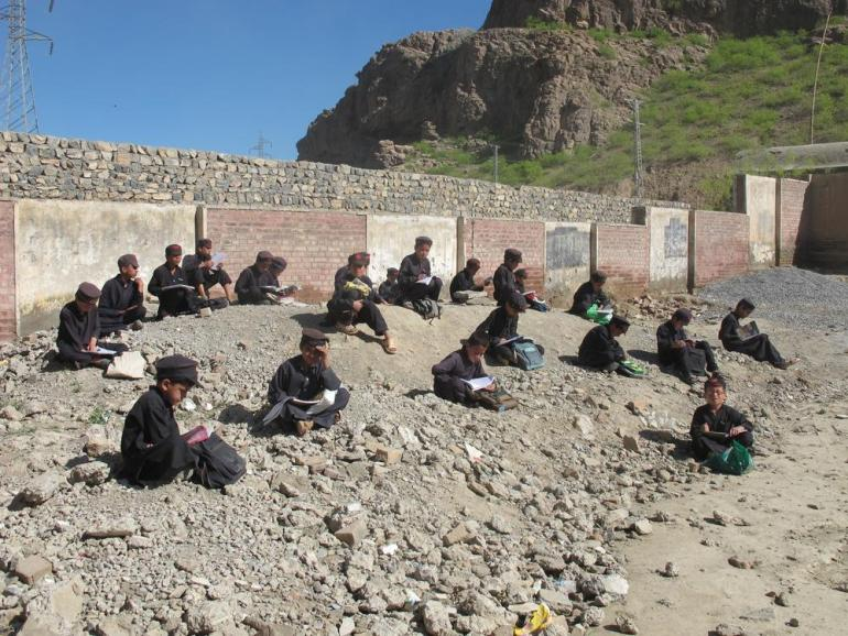 Students in Landi Kotal town in FATA said that despite the threats and fear of rebel attacks, they attended school everyday.