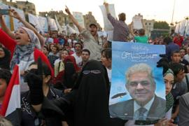 Hamdeen Sabahi stands no chance of challenging Sisi in the presidential elections, argues Al-Arian [EPA]