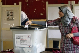 Voter turnout low in Egypt elections