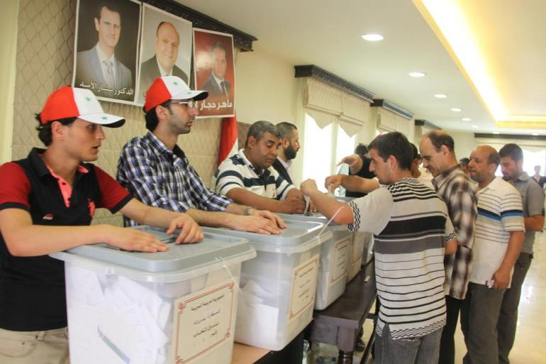 Syrian opposition and its Western allies have denounced the election as a sham designed to lend Assad a veneer of electoral legitimacy.
