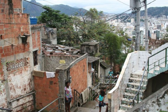 Some Rio residents were evicted to make way for lucrative developments [Elizabeth Gorman/Al Jazeera]