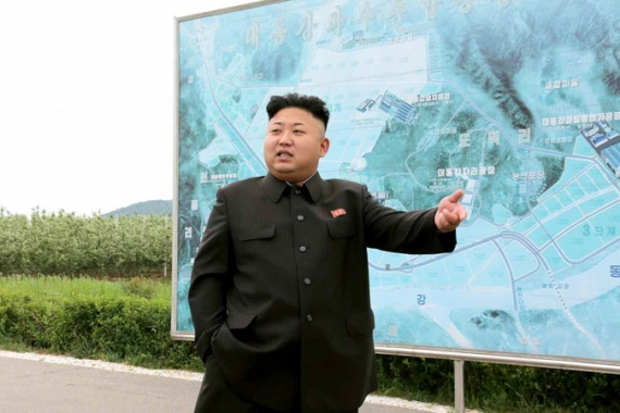 Kim Jong-Un lambasted meteorologists claiming they delivered 'too many incorrect' weather forecasts [EPA]