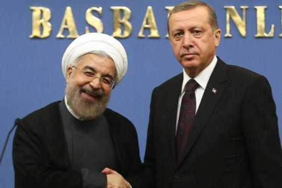 Rouhani's visit to Turkey was the first official state visit by an Iranian president in 18 years [AFP]