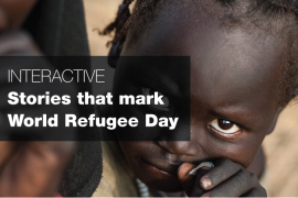 Stories that mark World Refugee Day
