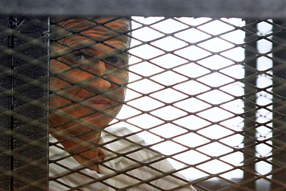 Peter Greste was sentenced to seven years in prison [AP]