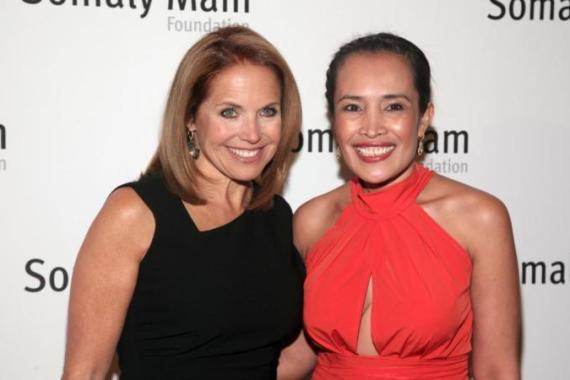 Somaly Mam (right) was a celebrated face of anti-trafficking efforts, and dubbed a 'hero' by CNN [AP]
