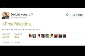 Basketball star backtracks on #FreePalestine tweet