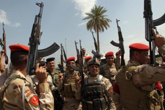 Iraq's armed forces have faced a lightning assault by rebels aligned with the Islamic State group [AFP]